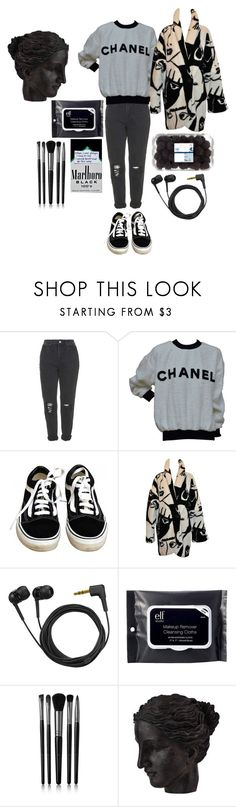 """""""🐑🐑🐑🐑🐑🐑🐑🐑"""" by comerttaylan ❤ liked on Polyvore featuring Topshop, Chanel, Vans, Sennheiser, e.l.f., Illamasqua, Ren-Wil and vintage"""
