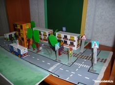 макет города из бумаги для ребенка - Поиск в Google