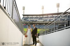 PNC Park wedding, stadium wedding, baseball wedding