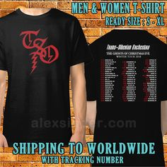 4f3a047a8bd4 Trans Siberian Orchestra Tour Dates 2018 Men Women Black Shirt S-XL  SInder11 #fashion