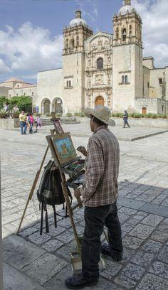 Painter in Oaxaca, Mexico by Joe Routon on 500px