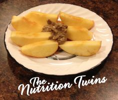 Simple Smack- Down Apple Snack | NO MORE MISSING WORKOUTS FROM afternoon lulls | NO SNOOZING on your desk anymore| Yummy, fiber, protein for long-lasting ENERGY boost! | Enjoy! :) | For MORE HEALTHY, DELICIOUS RECIPES, please SIGN UP for our FREE NEWSLETTERwww.NutritionTwins.com