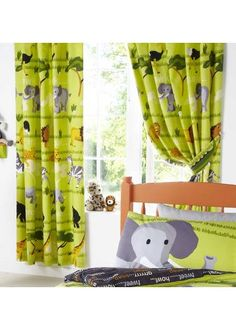 Wild Things Curtains 72s