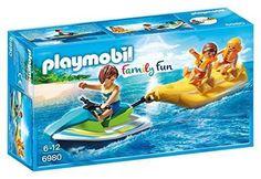 Oferta: 9.19€. Comprar Ofertas de Playmobil - Moto de agua con banana (6980) barato. ¡Mira las ofertas!