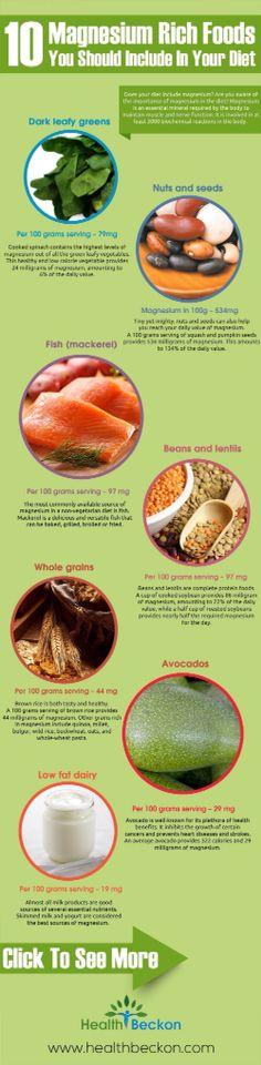 10 Magnesium Rich Foods