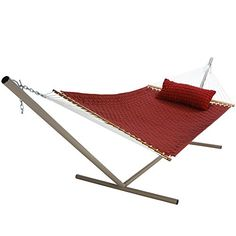 Pawleys Island Hammocks Garnet Large Soft Weave Hammock * Find similar swimwear by clicking the VISIT button