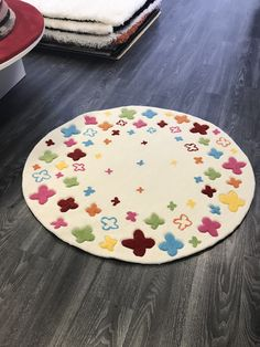 Bloomfield Beige Rug - Bloomfield Beige Rug, a soft hand-tufted acrylic round k. Bloomfield Beige Rug – Bloomfield Beige Rug, a soft hand-tufted acrylic round kids room rug with a colourf Childrens Rugs, Circle Rug, Room Rugs, Kidsroom, Rugs On Carpet, Diy For Kids, Boy Or Girl, Floral Design, Kids Rugs