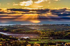 The Lookoff, Annapolis Valley, Nova Scotia.