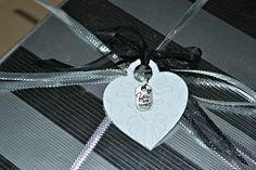 Made With Love Gift Tag / Charm Christmas Tag / Christmas Gift Tag / Homemade Gift Tag / Made With Love Charm Tag (6.00 USD) by MoreFriendsAndCo