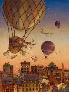 """pagewoman:  """"  The Book Balloon  by Alice Ratterree  """""""