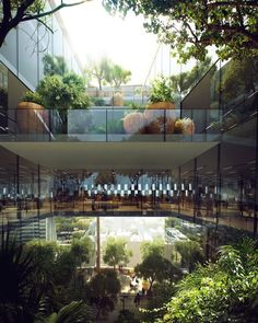 Snøhetta gana concurso para diseñar la sede del Banco de Beirut,© MIR/Snøhetta