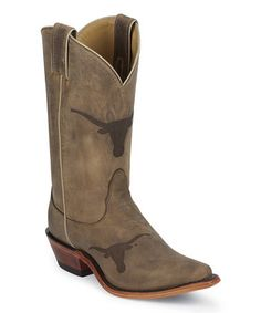Another great find on #zulily! Texas Longhorns Branded Cowboy Boots - Men by Nocona Boots #zulilyfinds