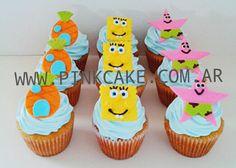 Cupcakes Bob Esponja