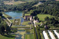Domaine de Villarceaux, Chaussy, Magny-en-Vexin, Pontoise, Val-d'Oise, Île-de-France, France