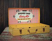 Vintage Gotham Happy Day Outing Kit For Boys and Girls Litho Tin Box by Misinterpreted on etsy