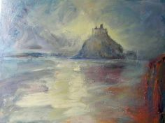 St. Michael's Mount, Marazion, Cornwall, UK Inspiring Pictures, Cornwall, Artsy, Painting, Inspiration, Biblical Inspiration, Paintings, Draw, Drawings