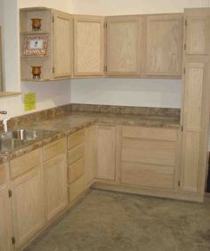 Superior Unfinished Maple Kitchen Cabinets