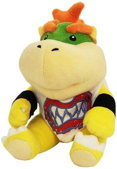 Nintendo 19cm Super Mario Bros Plush San-ei - Bowser Jr: Amazon.co.uk: Toys & Games