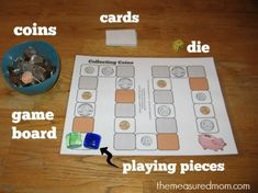 Teach kids to recognize coins with this free coin activity for kindergarten.