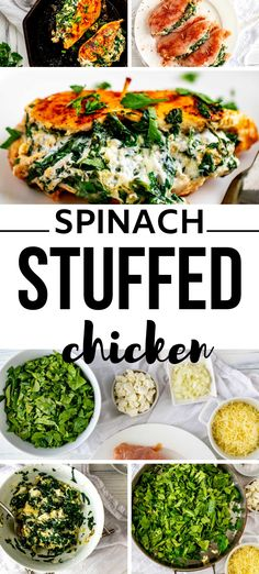 Anytime I can satisfy my cravings for comfort food in a way that doesn't involve a lot of carbs I am ecstatic. Spinach Stuffed Chicken is one of my go-to dinners. I prepare the filling as part of my weekly meal prep, which makes this keto dish an easy weeknight meal. #kickingcarbs #lowcarbrecipe #ketodinner #keto #stuffedchicken Gluten Free Recipes For Breakfast, Gluten Free Dinner, Dinner Recipes, Duck Recipes, Vegan Recipes, Great Chicken Recipes, Eating Organic, Meal Prep For The Week, Spinach Stuffed Chicken