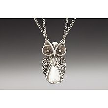 Silver Spoon: Owl Necklace - shopPBS.org