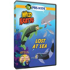The Official PBS KIDS Shop | Wild Kratts Lost at Sea DVD
