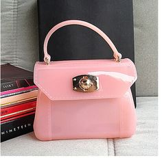 $19.00 (Buy here: https://alitems.com/g/1e8d114494ebda23ff8b16525dc3e8/?i=5&ulp=https%3A%2F%2Fwww.aliexpress.com%2Fitem%2Fshoulder-women-Messenger-bag-furly-candy-handbag-jelly-handbag-mini-bag%2F32306330950.html ) women Messenger bag furly candy handbag jelly phone Sandy beach mini bag Summer Transparent bag bolsa de praia candy bag for just $19.00