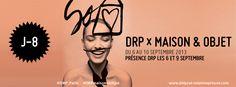 #MO13 J - 8 avant le salon Maison & Objet. Nous serons présent les 6 et 9 septembre 2013. Découvrez notre programme >> http://agence-delprat.tumblr.com/post/59478699421/drp-maison-et-objet (#MaisonETobjet, #design, #décoration, #Cuisine, #DRPmaisonetobjet)
