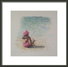 Patience In Pink Framed Print By Mary Jo Jung