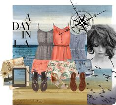 summertime., created by kristincmoney on Polyvore