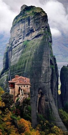 Meteora, Thessaly, Greece (2 more hours past Thessaloniki)