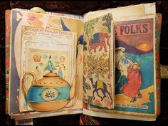 Eclectic Junk Journal Chock full of Goodies! - YouTube
