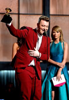 As expected, Sam Smith swept the Grammys Sunday night with four wins, including one for the coveted Record of the Year.