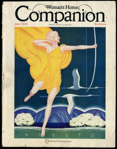 William Welsh. Woman's Home Companion, June 1932. [Pinned 29-iii-2015]
