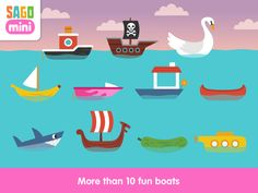 Sago Mini Boats - Best Apps For Kids