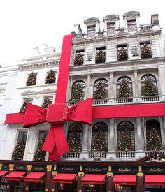 Cartier Christmas: New Bond Street