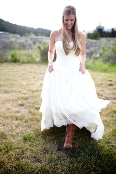country wedding style