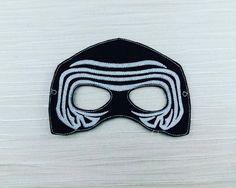 Galaxy Fighter Star Wars Kylo Wren Felt Mask Costume - Star Wars Party -Felt Dress Up Masks - Birthday Celebration Halloween Party Favor by AHeartlyCraft on Etsy