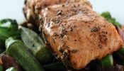 Grilled Salmon with Balsamic and Rosemary Marinade  Marinade Experiment #1....with many more to follow