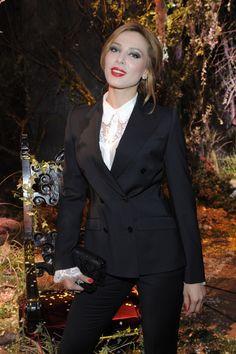 Iulia Vantur la Saptamana Modei din Milano