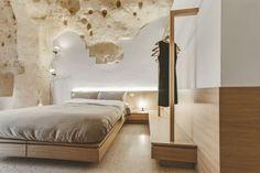 Un hôtel troglodyte d'exception creusé dans les grottes de Matera en Italie