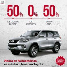 En julio podrás comprar tu Toyota SW4. Ven a Autoamérica y pregunta por este fabuloso plan de financiación. http://ow.ly/haom30dWCMD