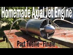 Here is the Finale of my jet engine, It has been completely built up now and unfortunately I did not have to time to film the rest of the parts but by now if. Model Jet Engine, Jet Engine Parts, Jet Turbine Engine, Gas Turbine, Fly Plane, Test Video, Best Youtubers, Science And Technology, Engineering
