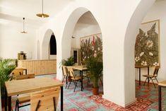 Image 22 of 30 from gallery of Event Hall in Etyek / kissmiklos. Photograph by Eszter Sarah Coffee Shop Design, Wine Cellar, Portfolio Design, Steel Frame, Restaurant, Interior Design, The Originals, Architecture, Room