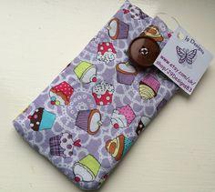 Lilac Cupcake Design Phone Case
