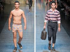 Nuevo post: MFW: Dolce & Gabbana Primavera Verano 2012 -2013  http://www.humanoidebook.blogspot.com/2012/06/milan-fashion-week-dolce-gabbana.html