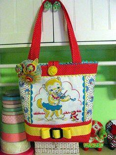 crafts vintage hankerchiefs | Kitsch 'n Stuff: Creative Crafting With Vintage Hankies | crafts