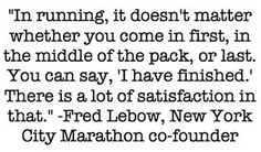 9. Favourite Motivational Quote I may not run marathons but I do run half marathons and I love the feeling I get when I cross the finish line :)  #runningroom #myultimaterun