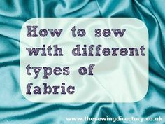 Useful sewing links for beginners