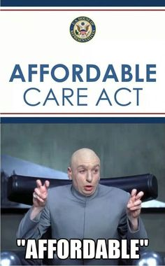 """""""Affordable"""" Care Act"""